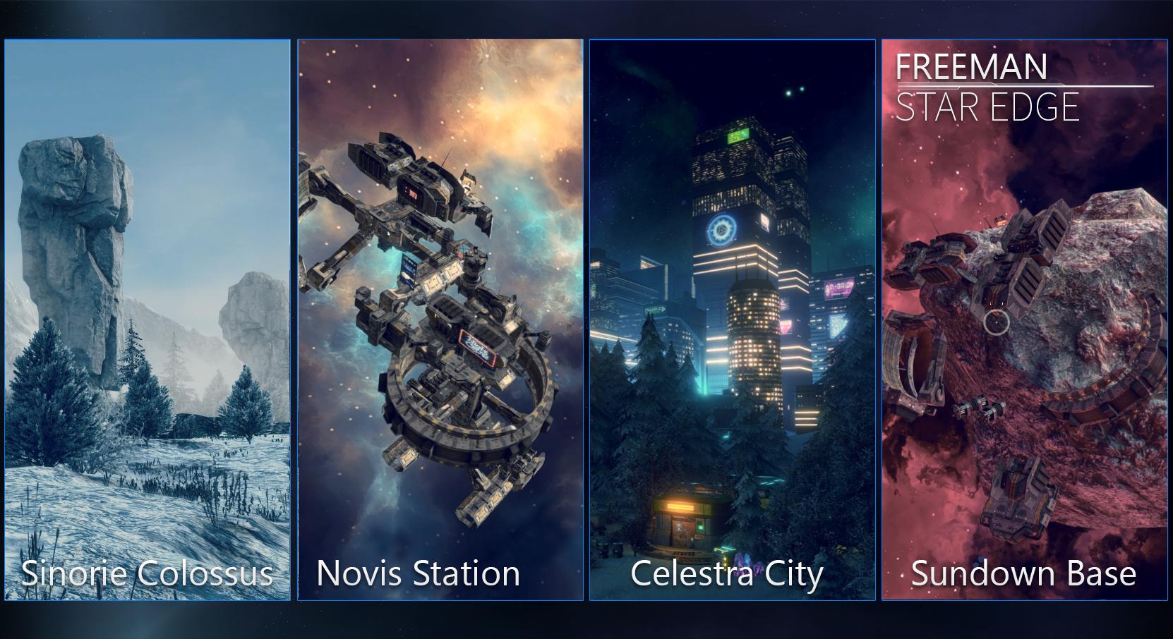 sci fi fantasy worlds