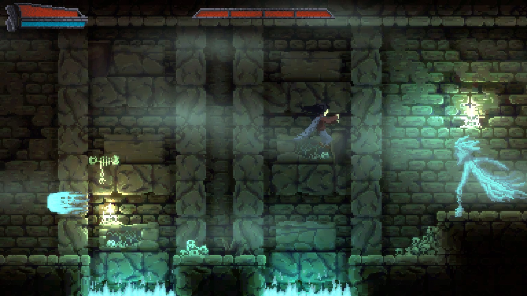 Ghost boss fight screenshot
