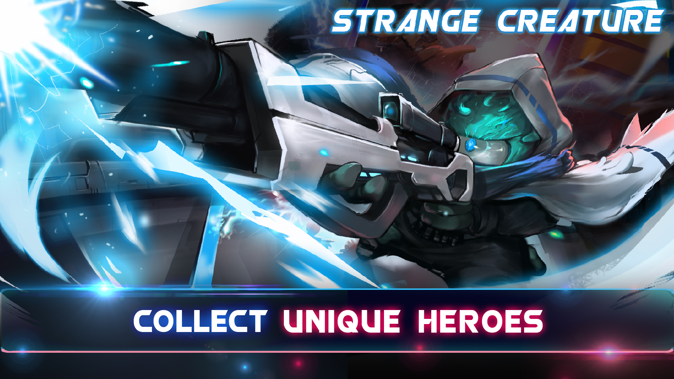 Collect unique heroes