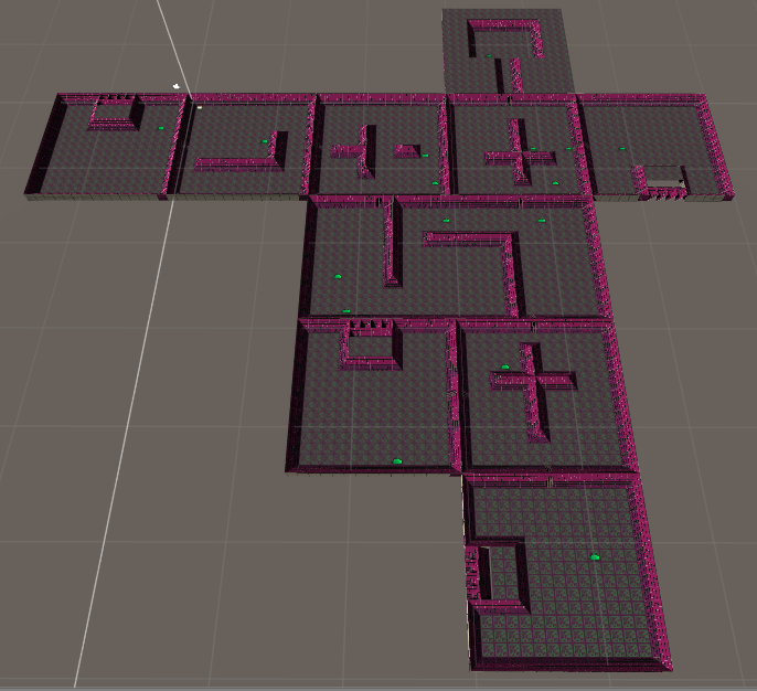 An example randomly generated floor layout