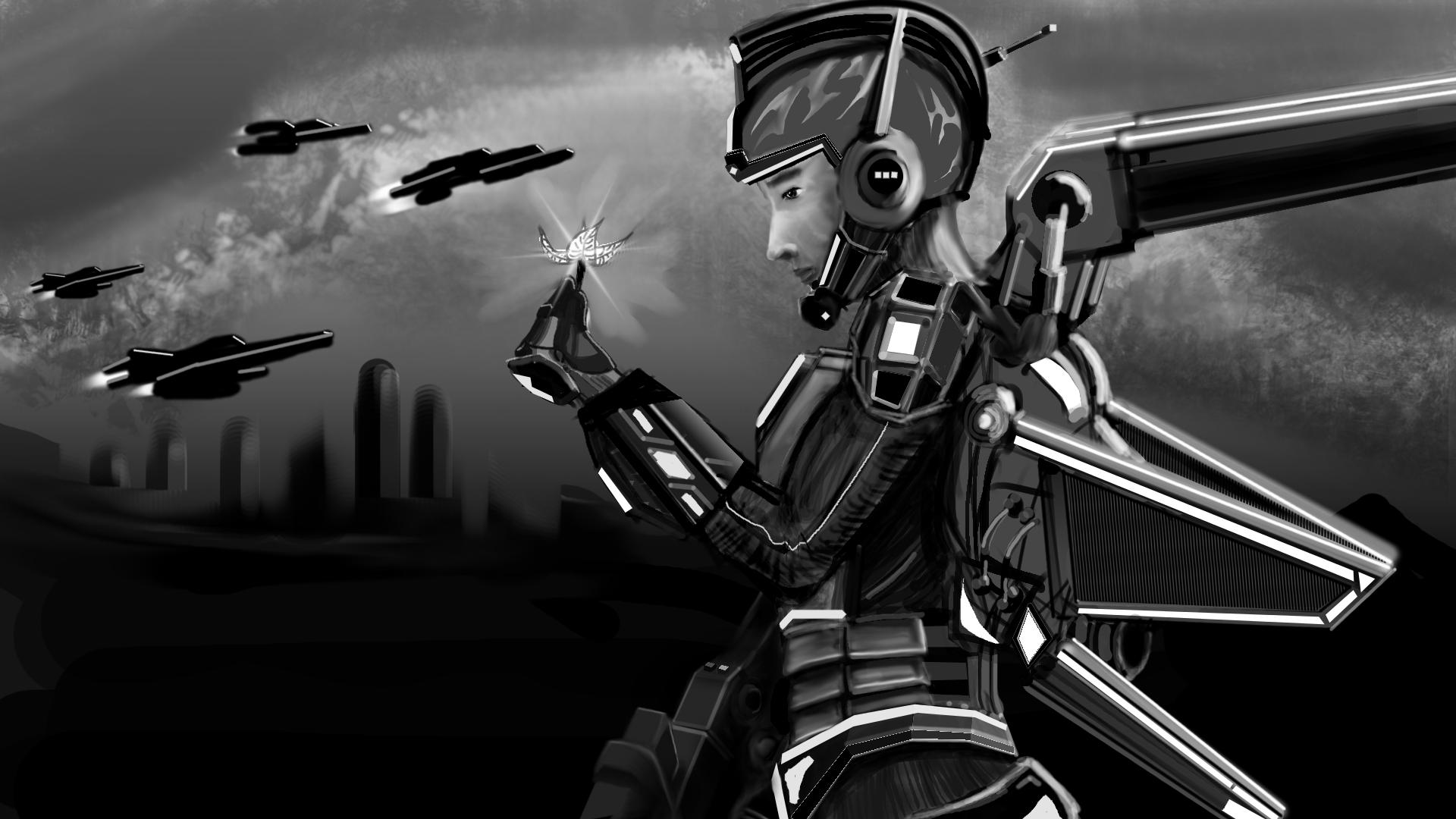 Cybertronic Hero Title02