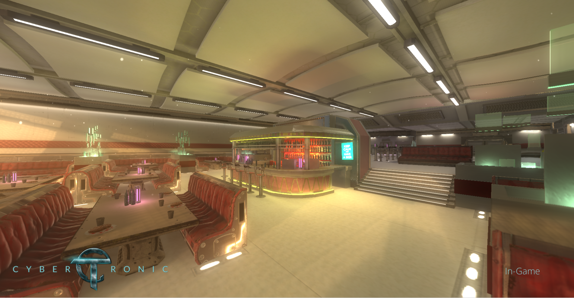 The new canteen with more details and correct proportions ;)