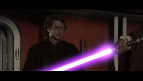 Anakin and Master Windu star war