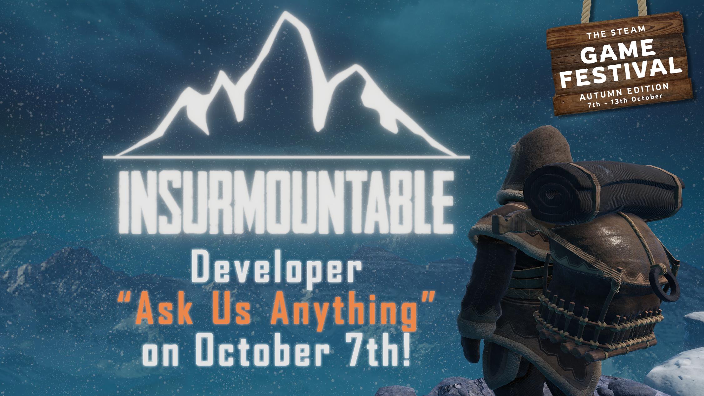 Developer Stream on october 7th