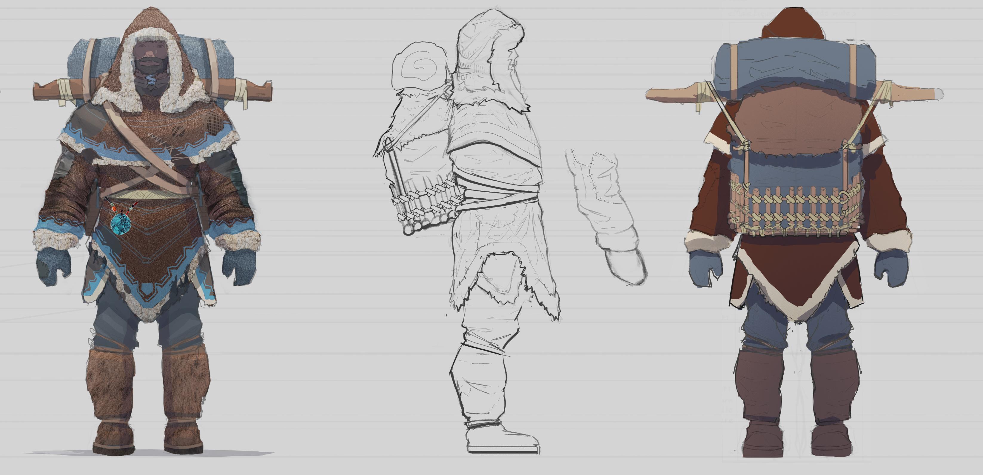 turnaround villager 1 rendering