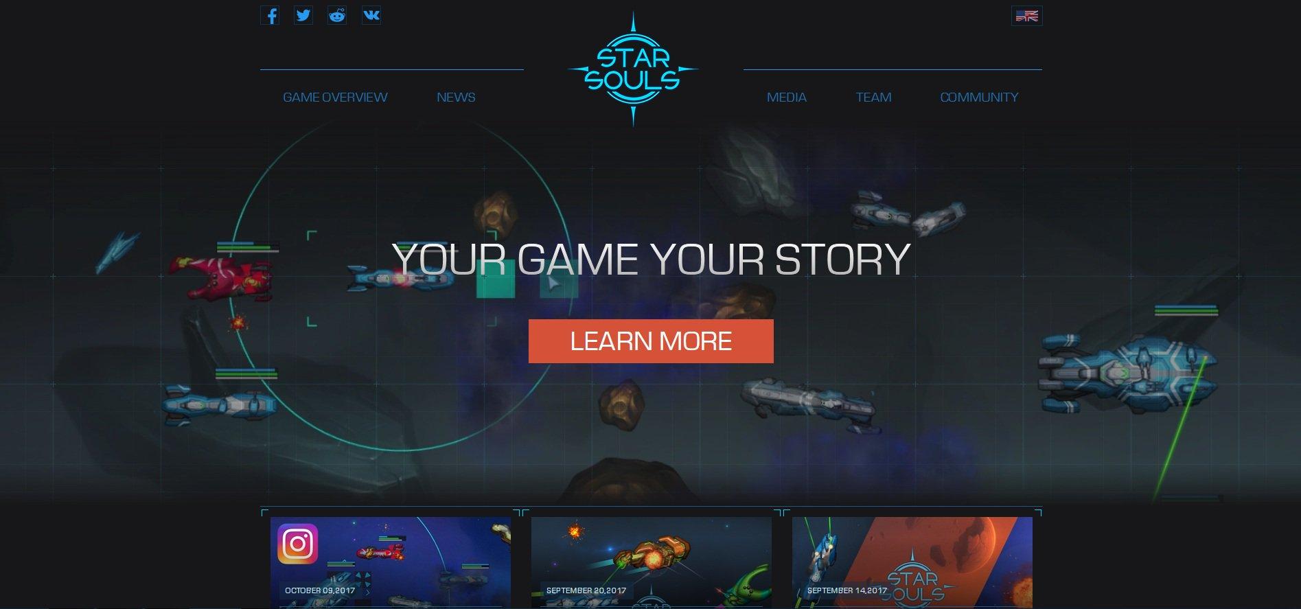 Star Souls website