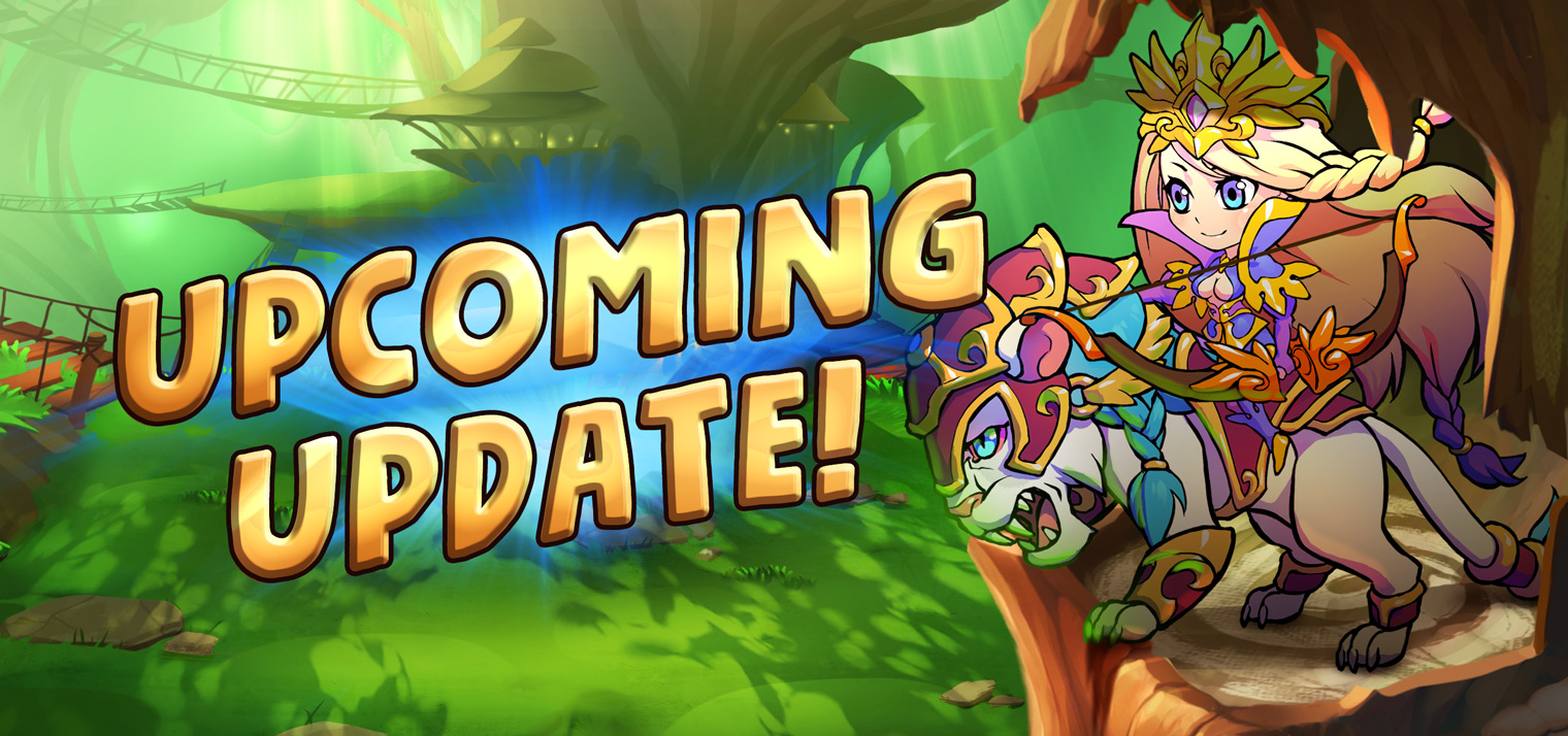 update upcoming