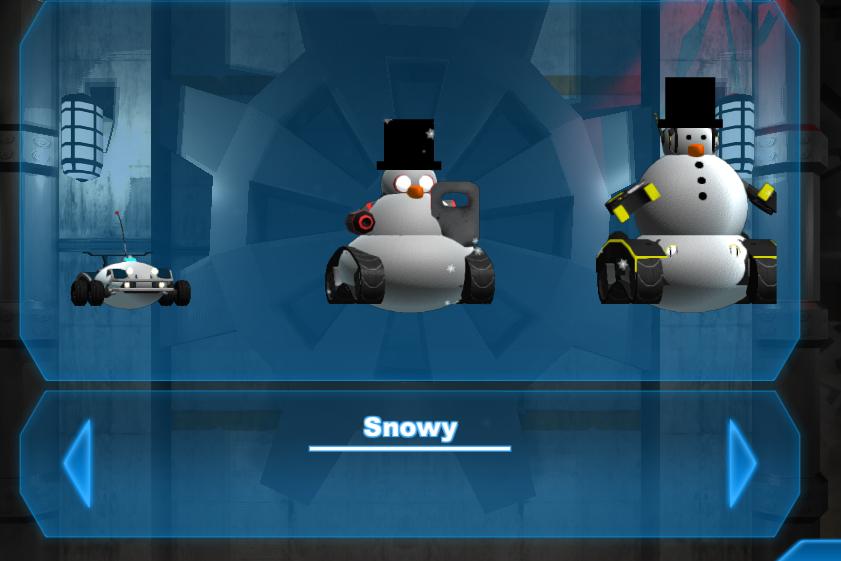 The new in game Skins menu