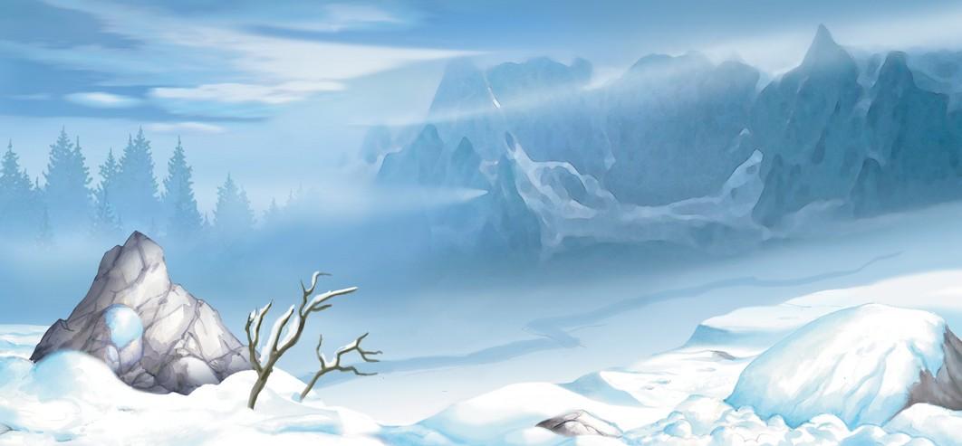 snowy wasteland wip