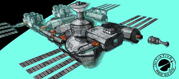 SpaceStation Concept2pass logo s