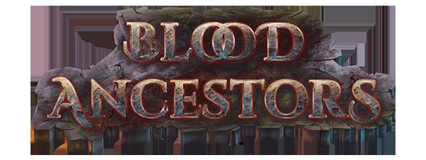 Blood ancestors background logo