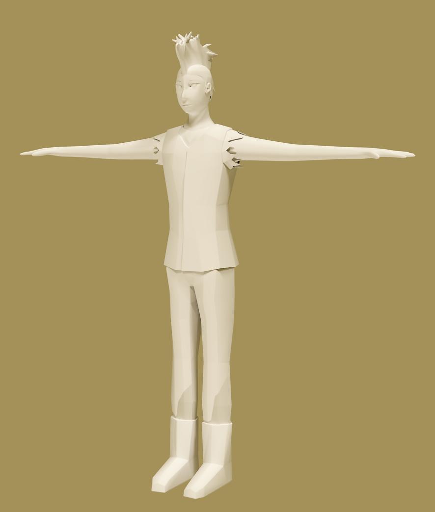 pistol bandit model no texture c