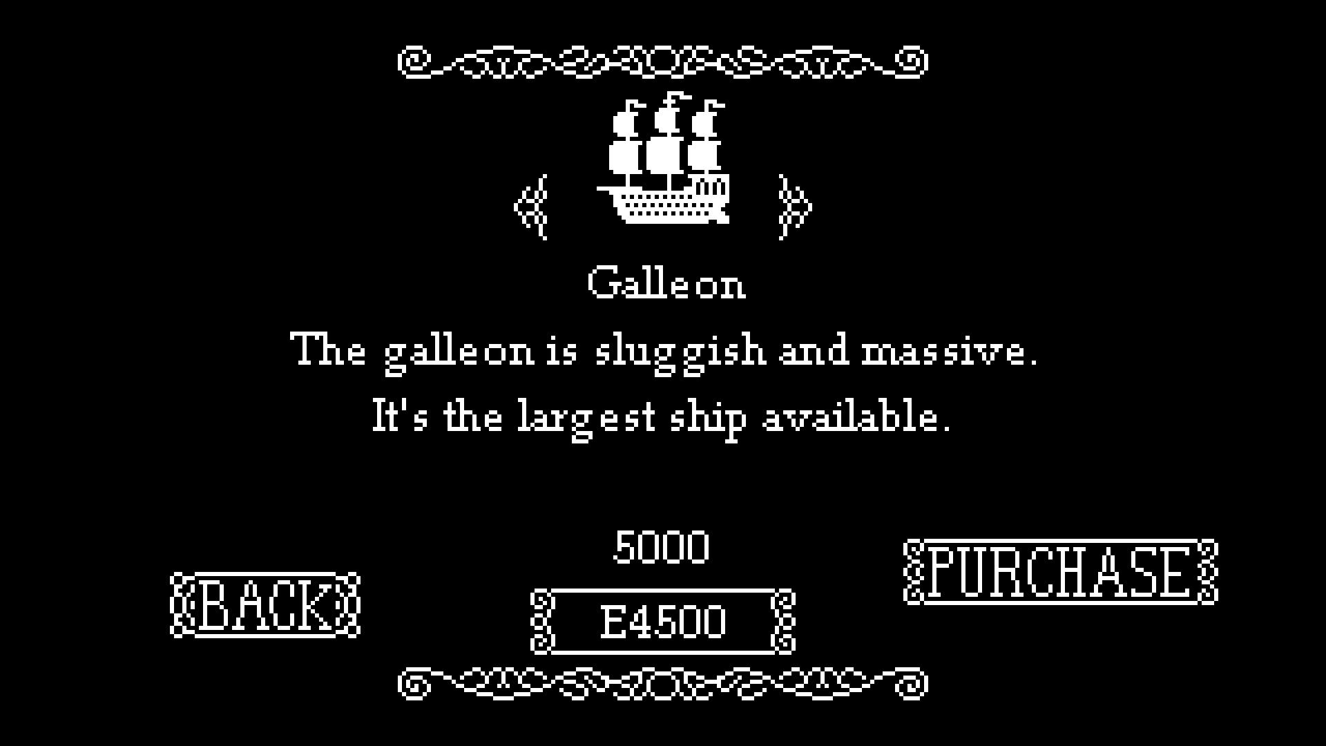 Ship Choosing Galleon