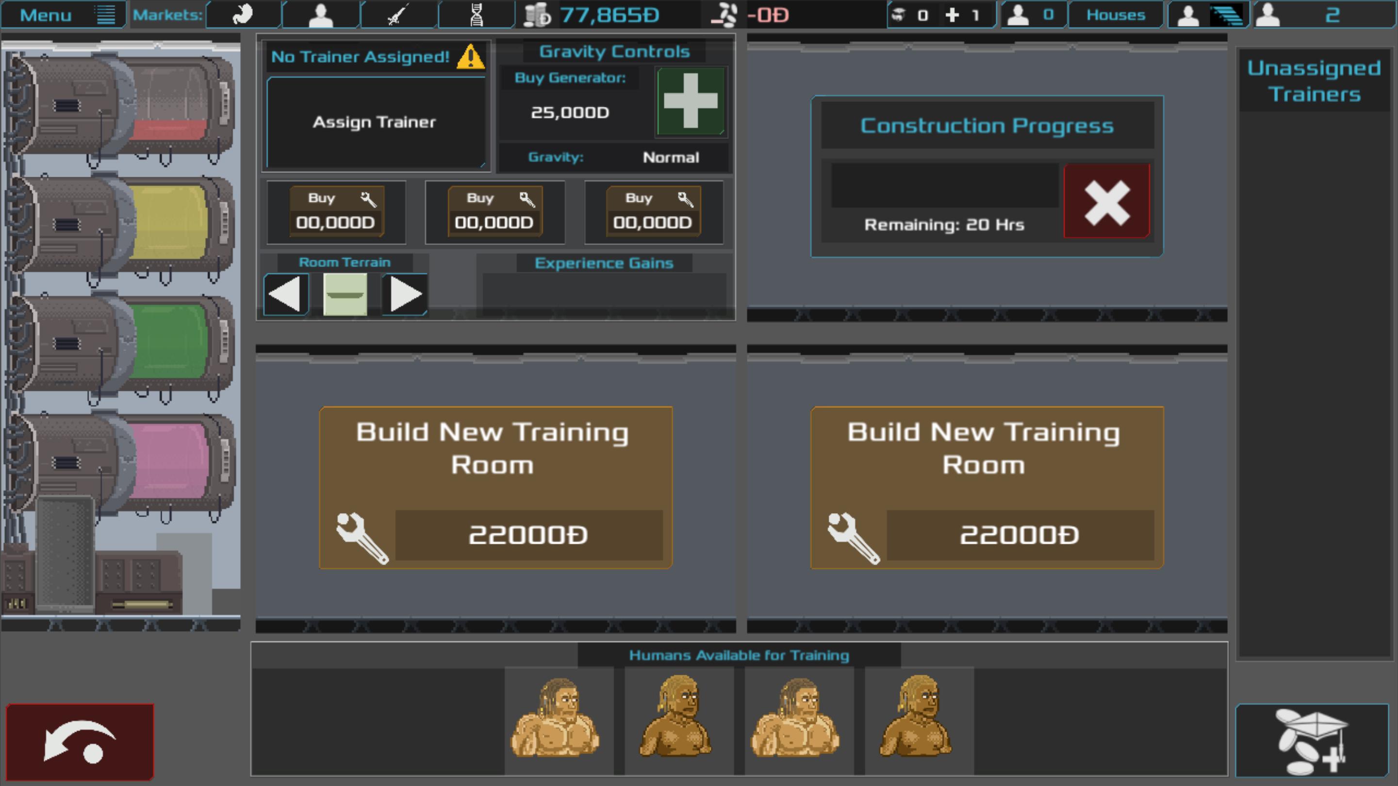 Training UI