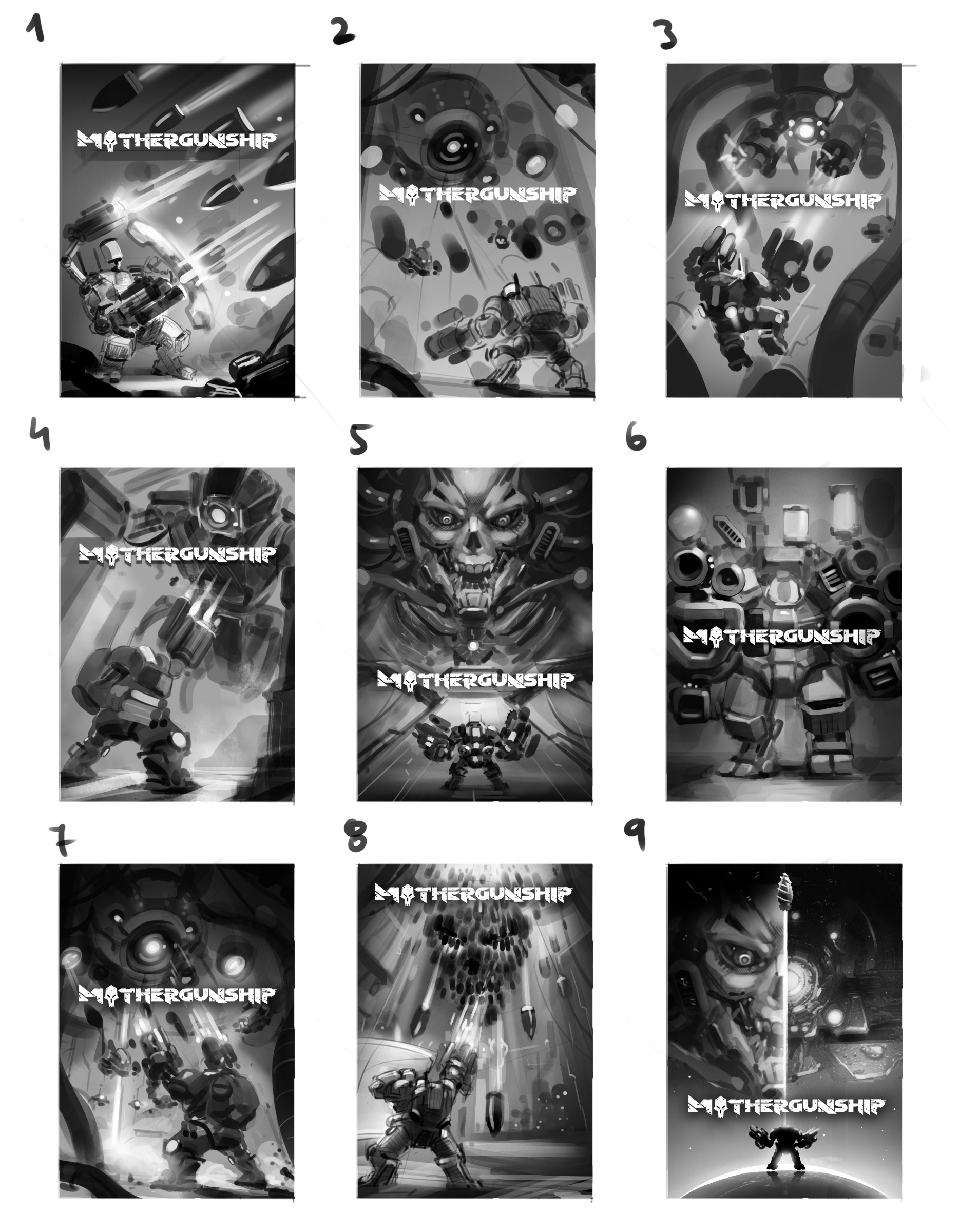 MGS cover art sketches01
