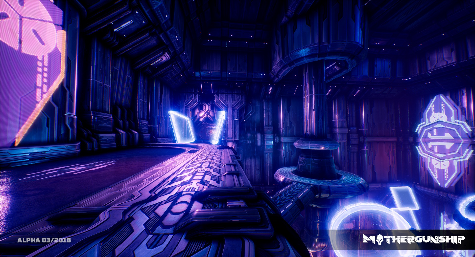 MOTHERGUNSHIP Alpha Screens NEON 1
