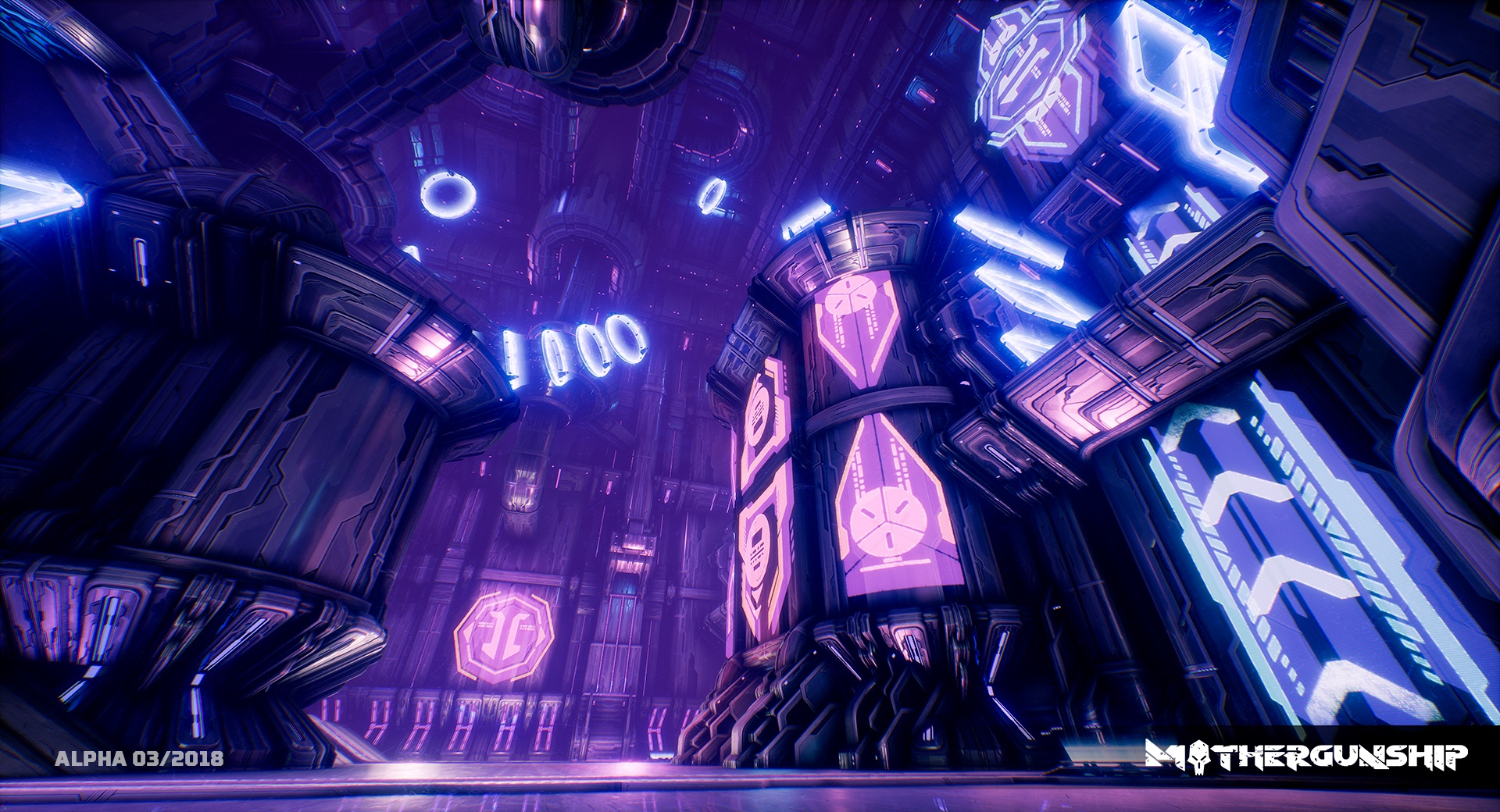 MOTHERGUNSHIP Alpha Screens NEON