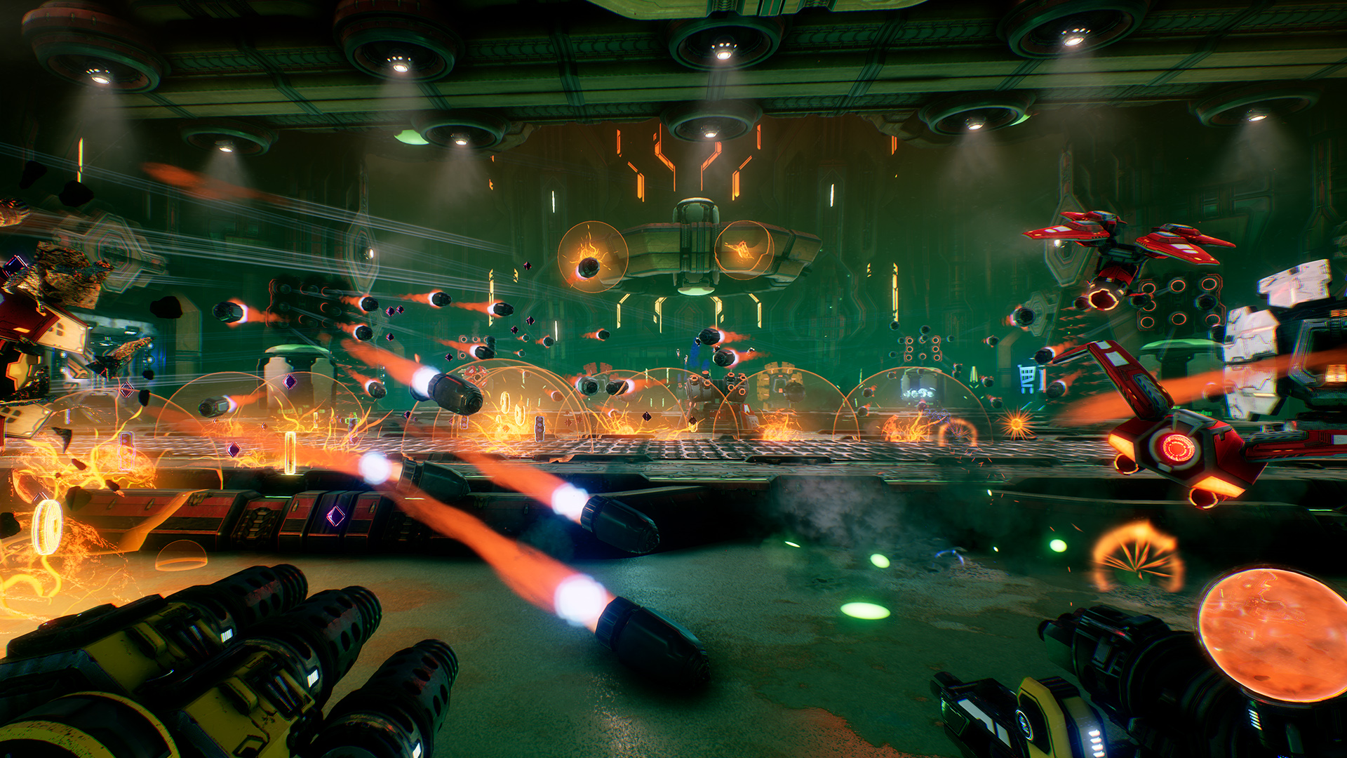 Mothergunship Launch Screenshot 6