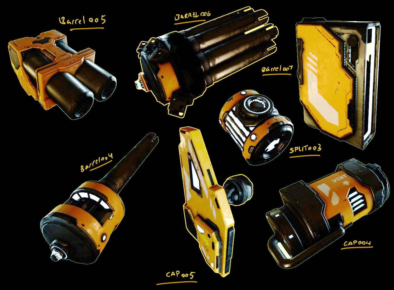 concept gunparts Crafting blog 0 1