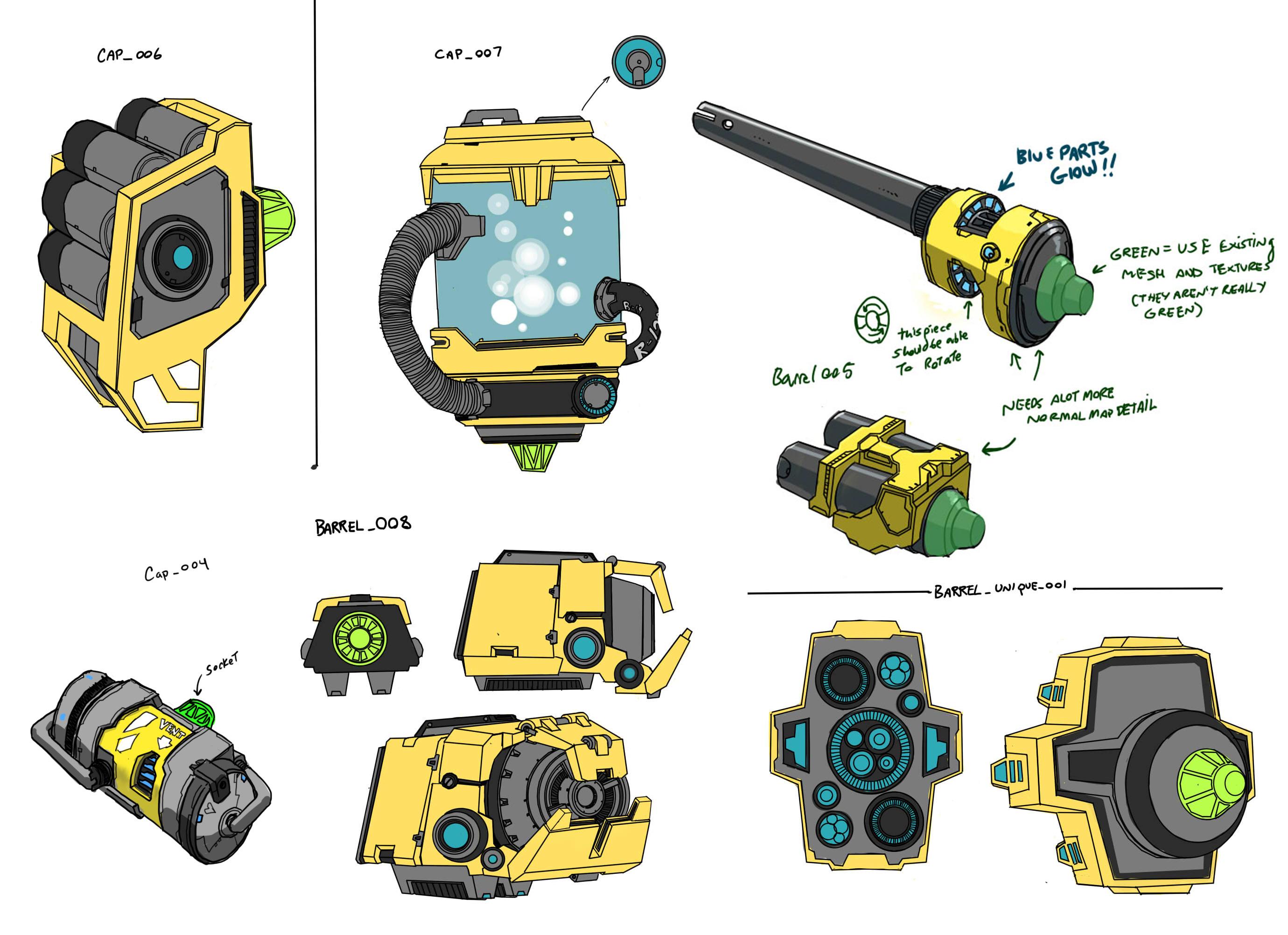 concept gunparts Crafting blog 0