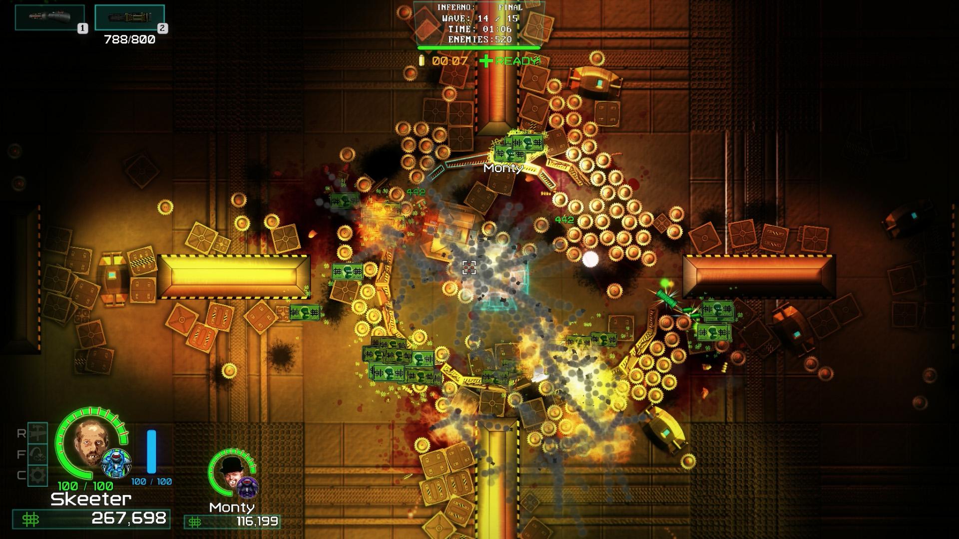 DEATHPIT3000 Screenshot1