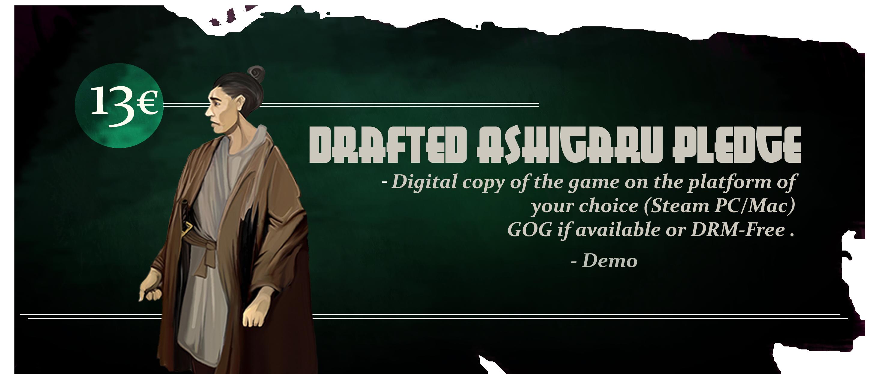 Drafted Ashigaru