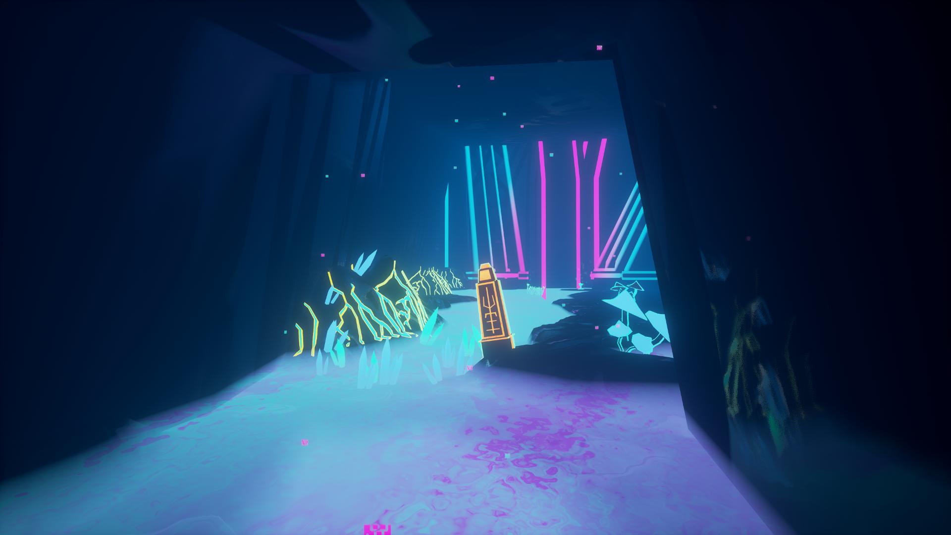 A hidden cave awaits you with hidden lore