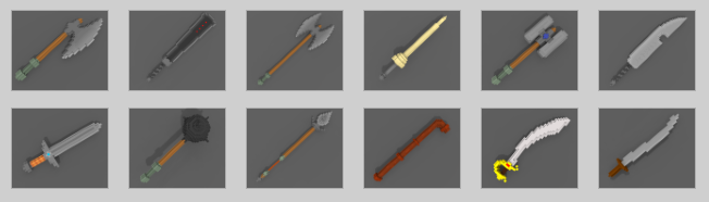 Melee weapons. All melee weapons have an ability which triggers their overheat.