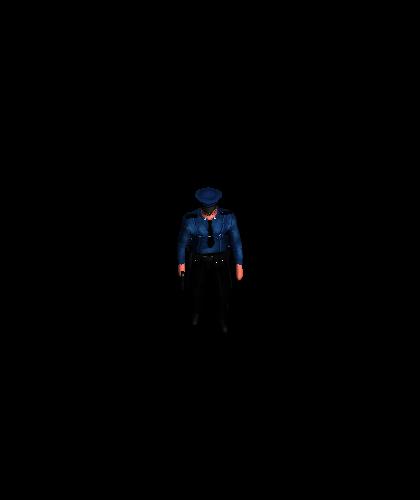 Unit PoliceOfficer Walk 0031