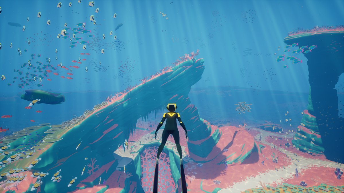 ABZU in-game screenshot by Giant Squid