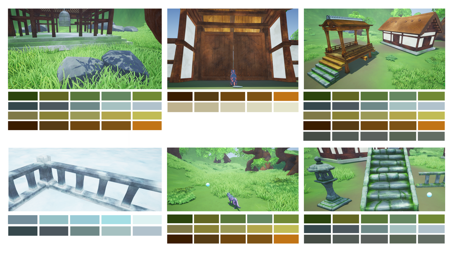 Mortal World Color Palette 1