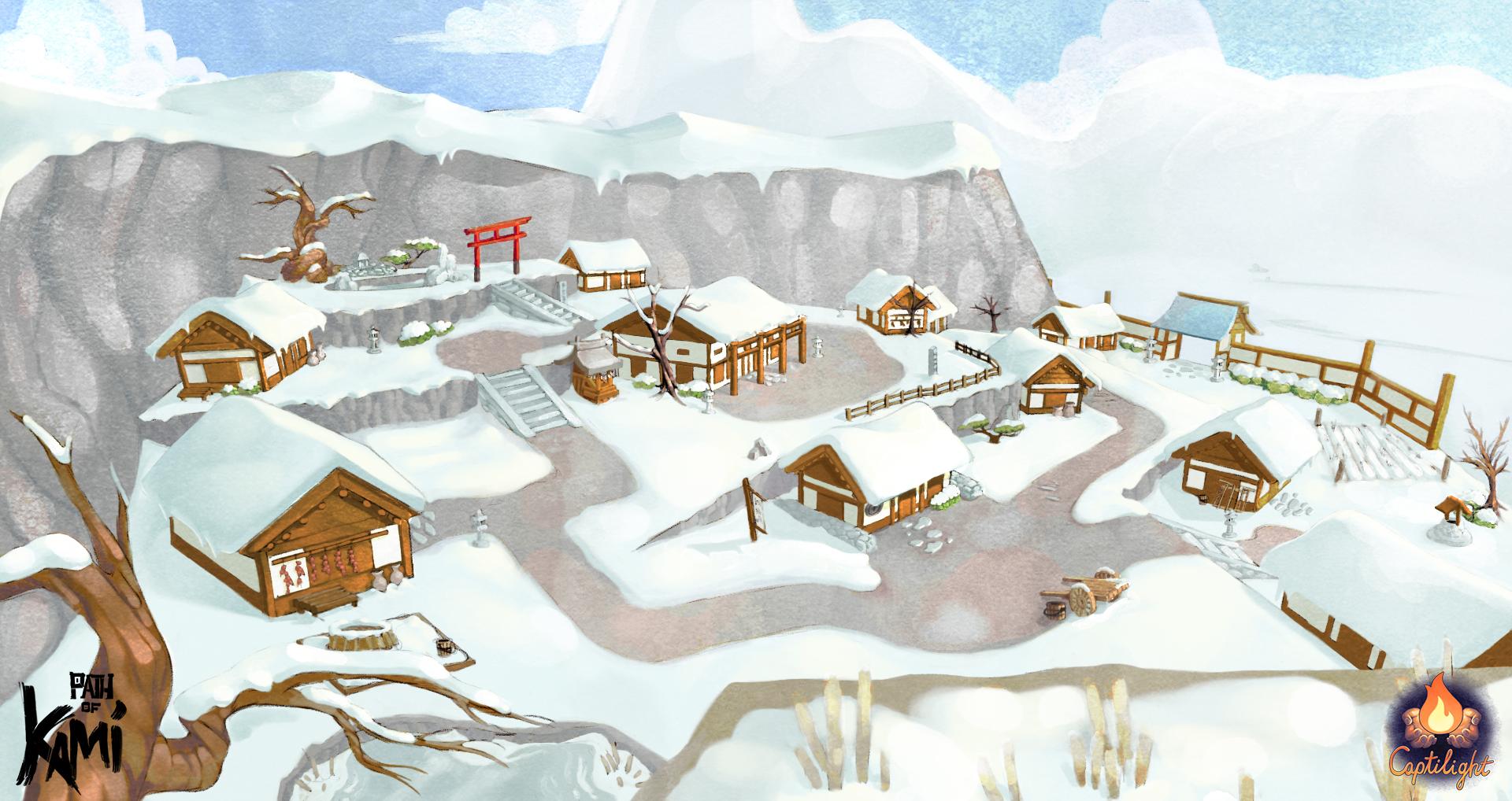 Village Key Art  Update 5 LOGO