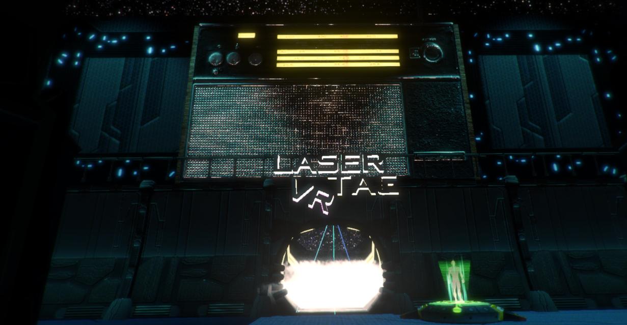 Laser Tag VR Title