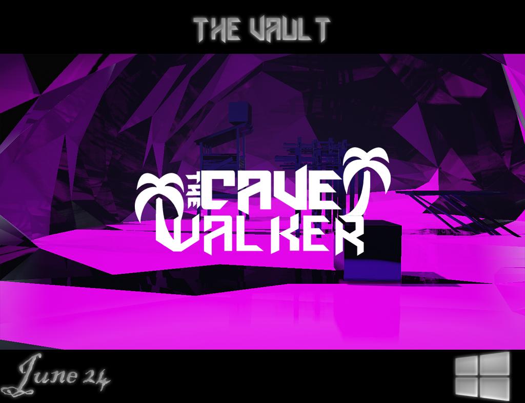 TheCaveWalkerTheVaultGamePoster 1