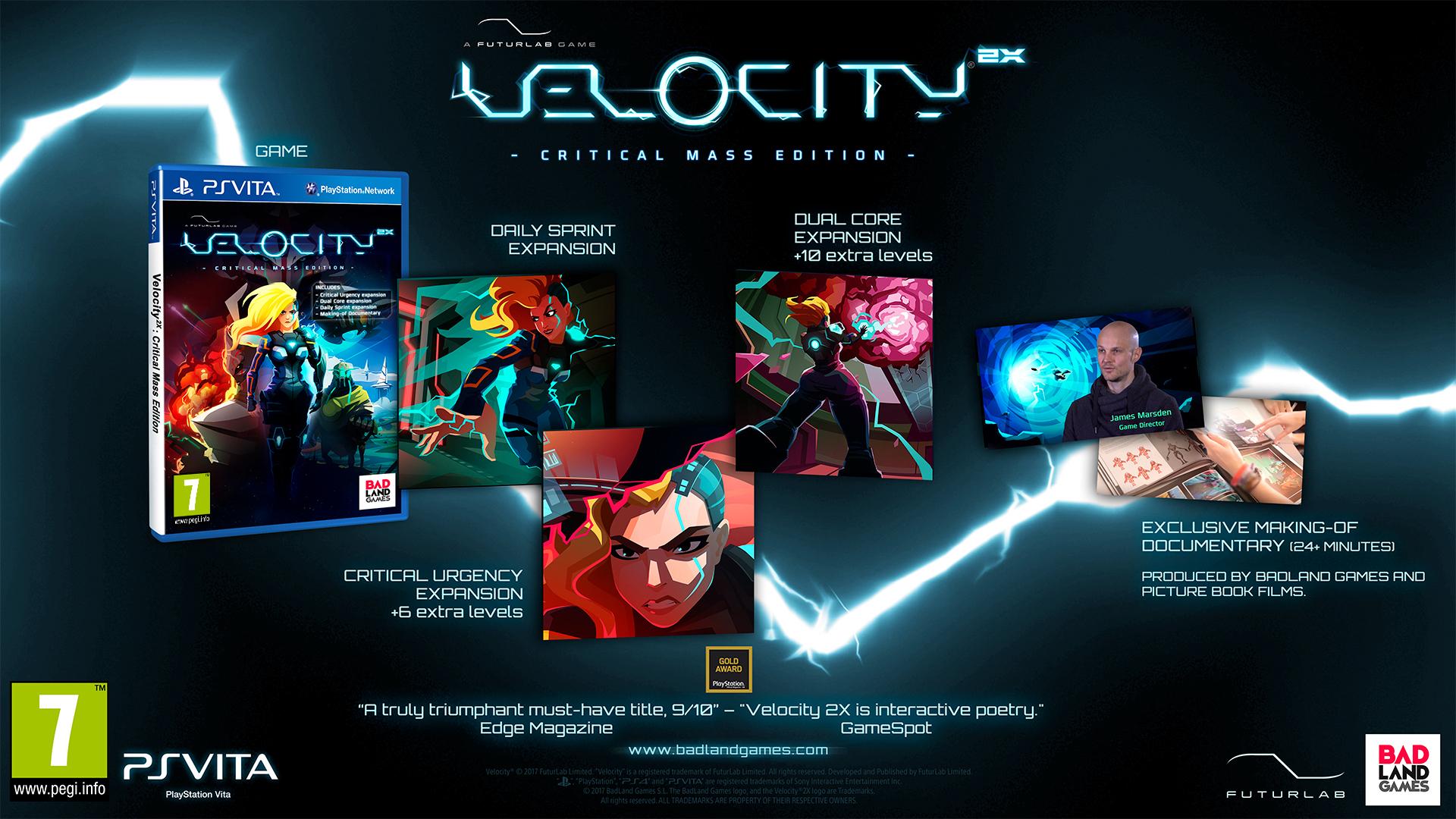 VELOCITY 2X CRITICAL MASS EDITIO 1