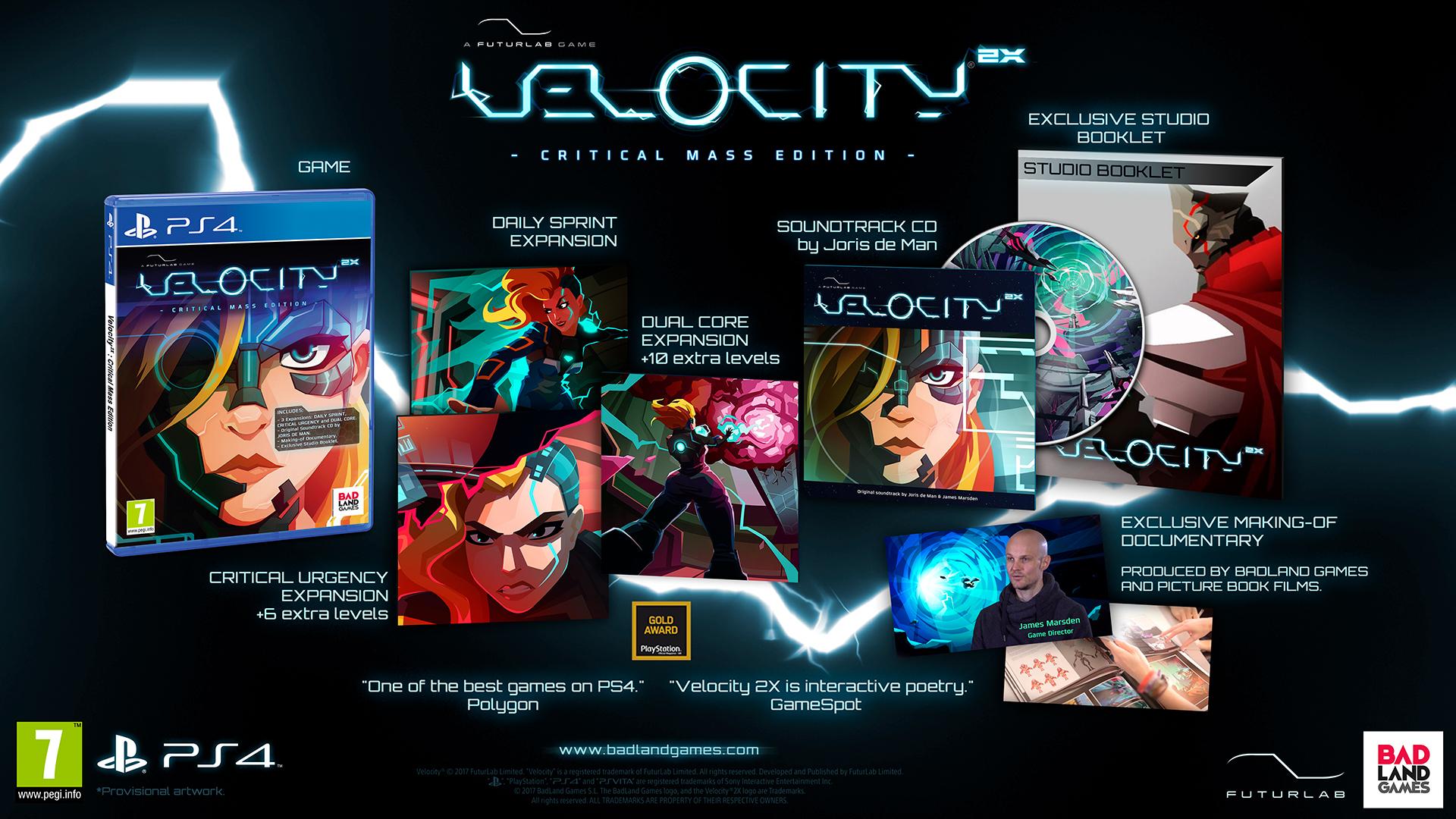 VELOCITY 2X CRITICAL MASS EDITIO