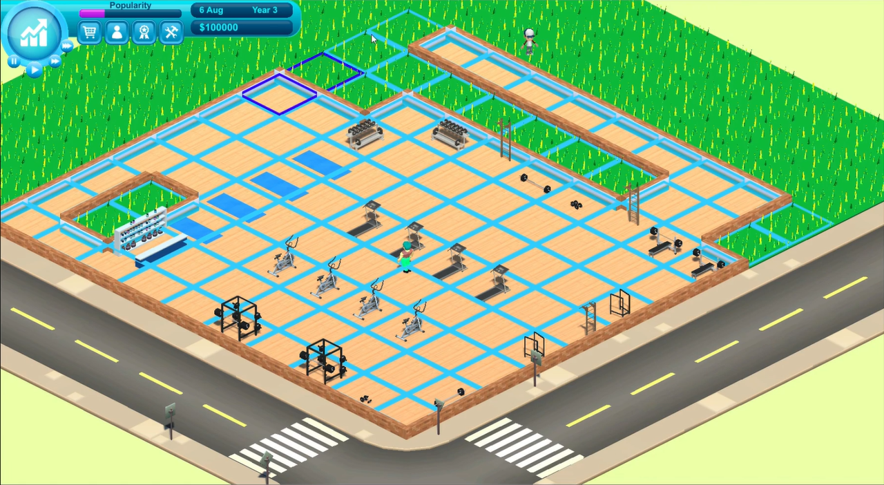 Gym Empire   Building Working