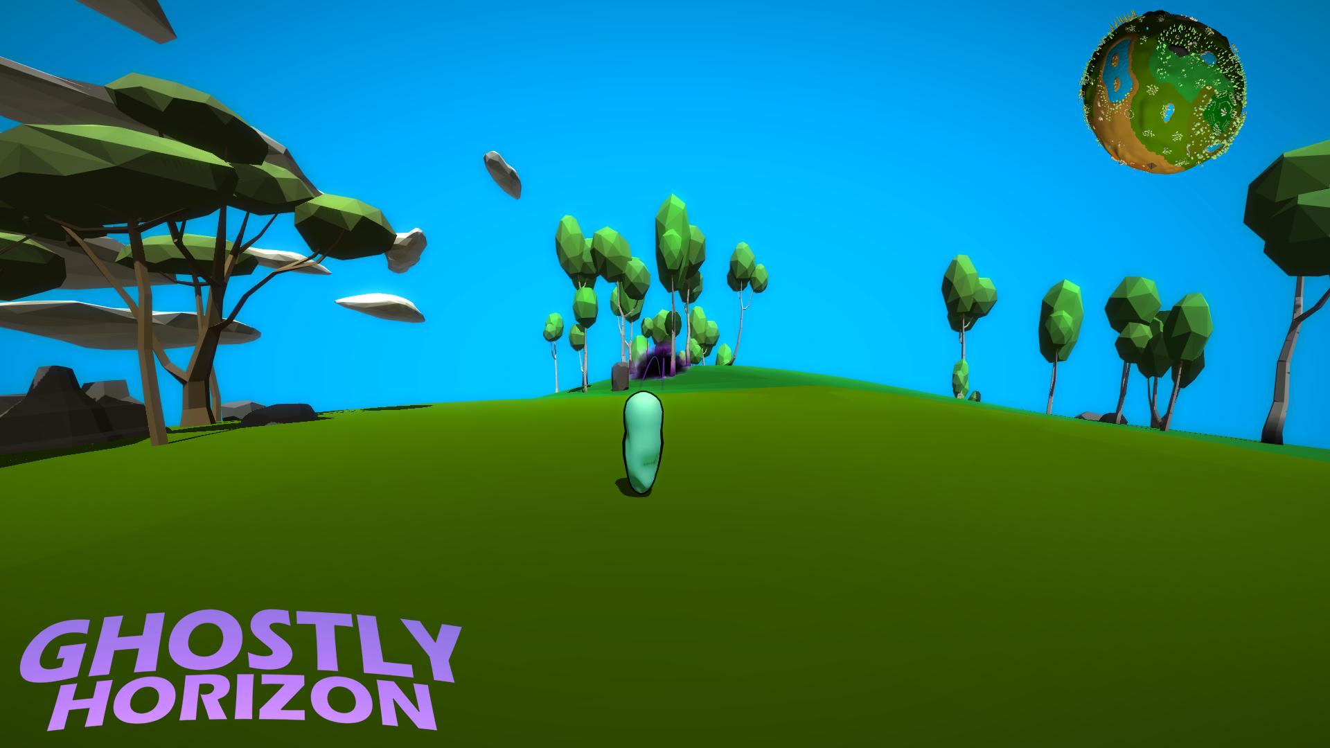 Ghostly Horizon - Ecto casting dark mist