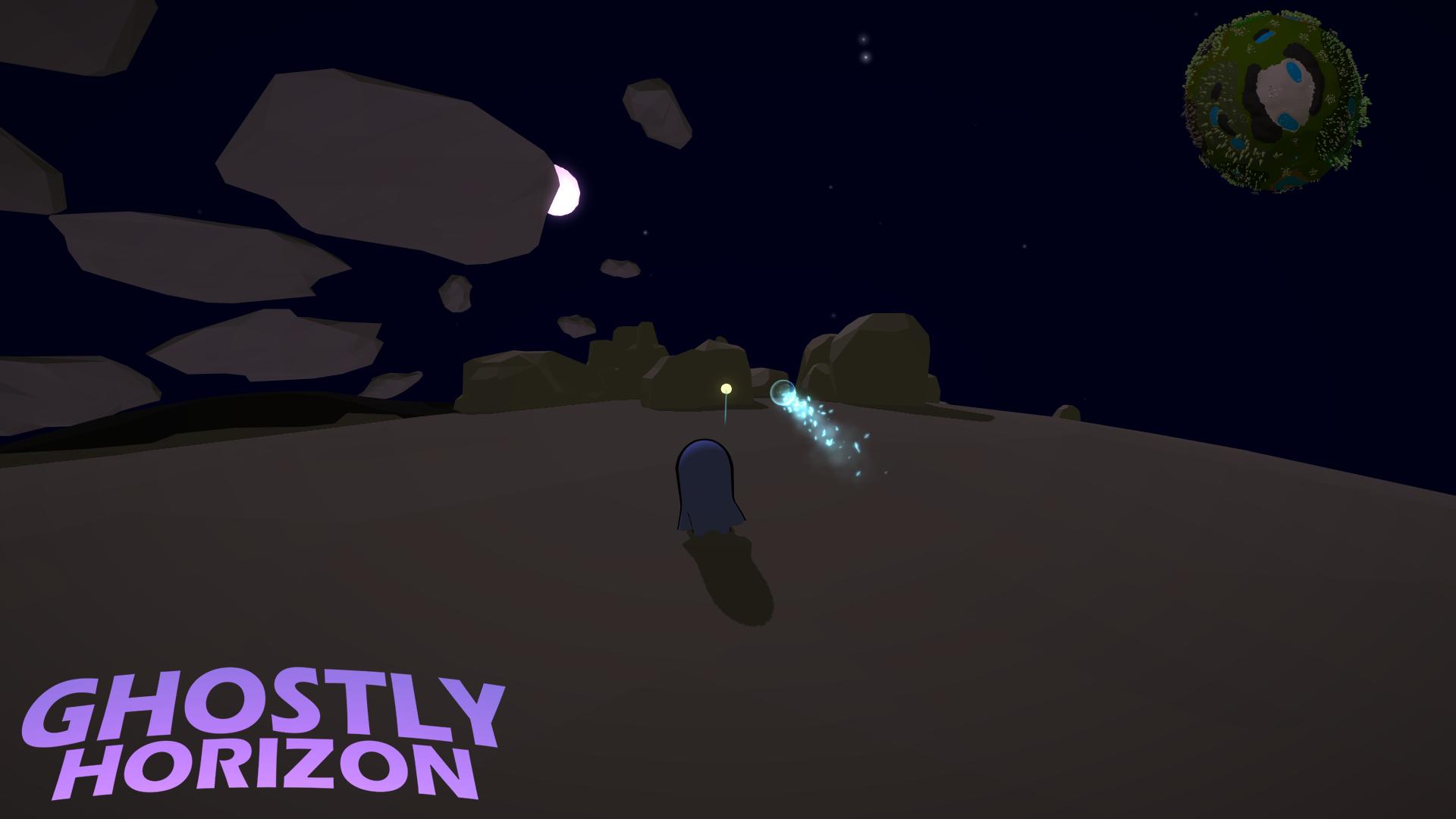 Ghostly Horizon - Ice Sphere spell