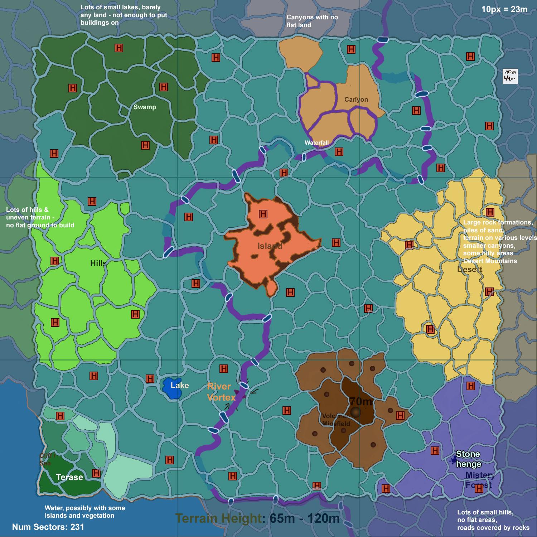 Map Plan Planet 3