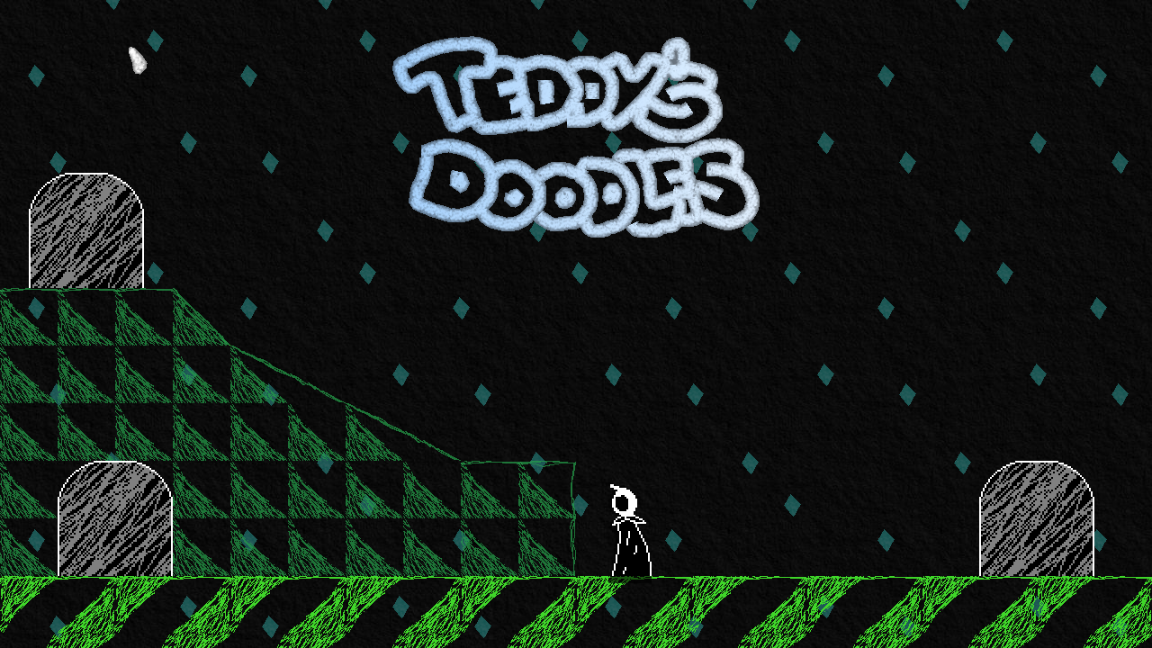 Teddy's Doodles Title Screen