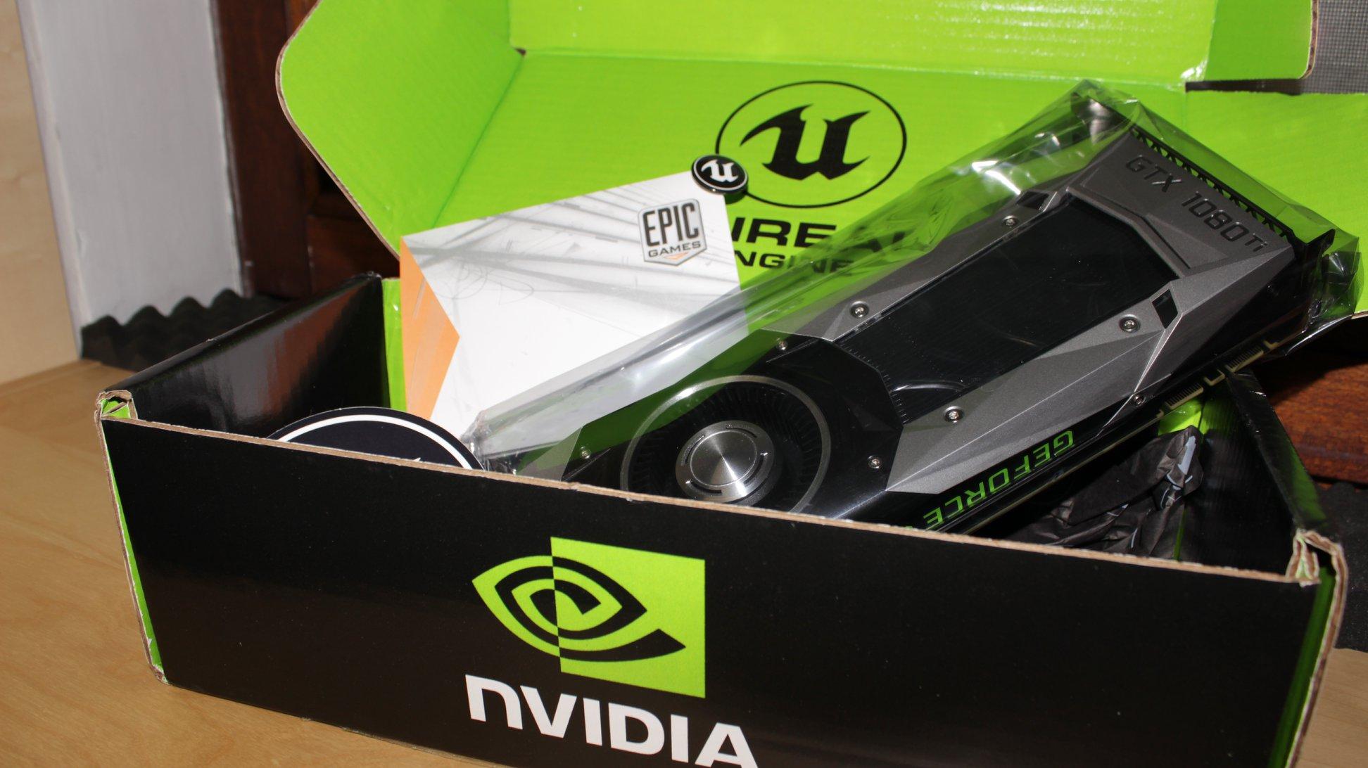 GTX 1080ti NVIDIA Edge