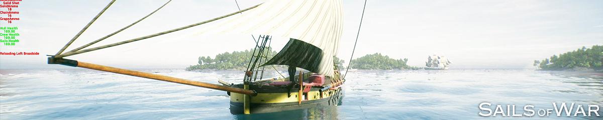 Sails of War Dev Blog 7 Header
