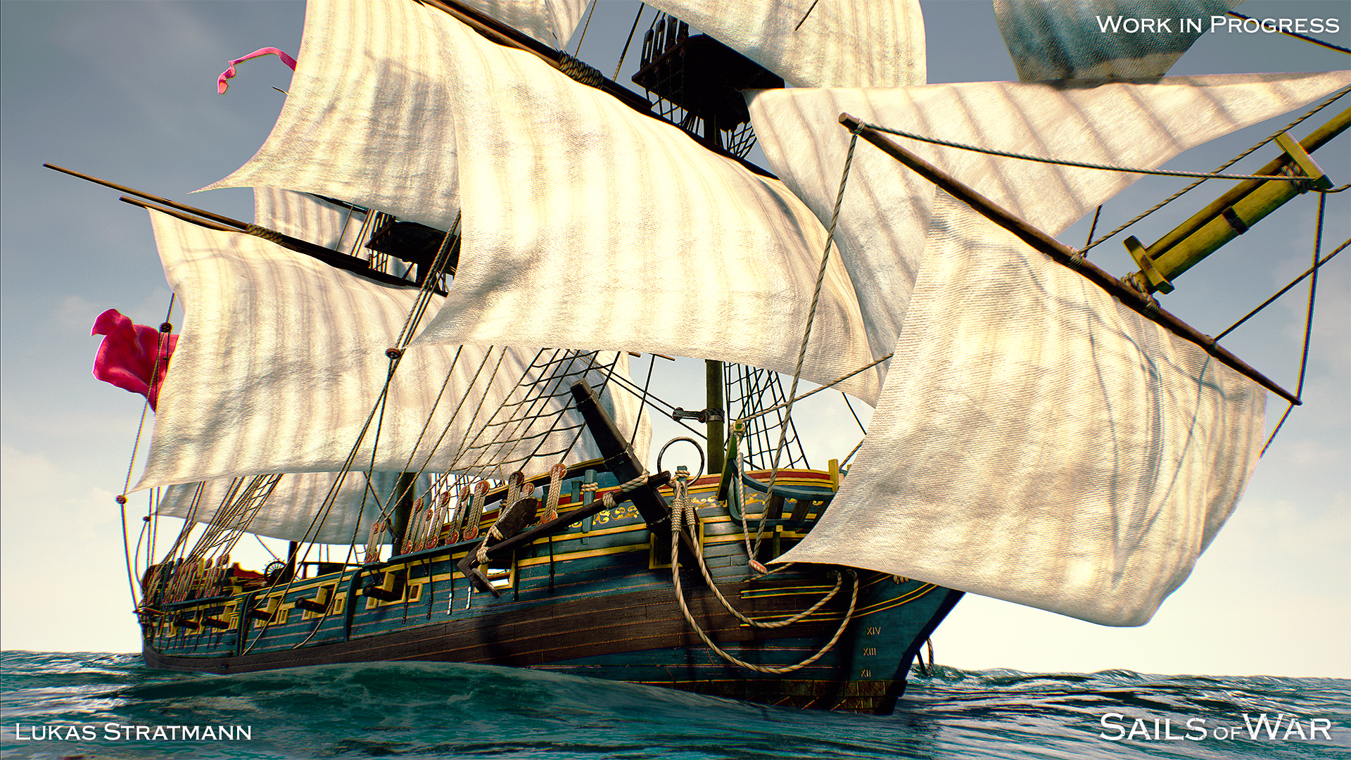 Sails of War Screenshot Alpha 6