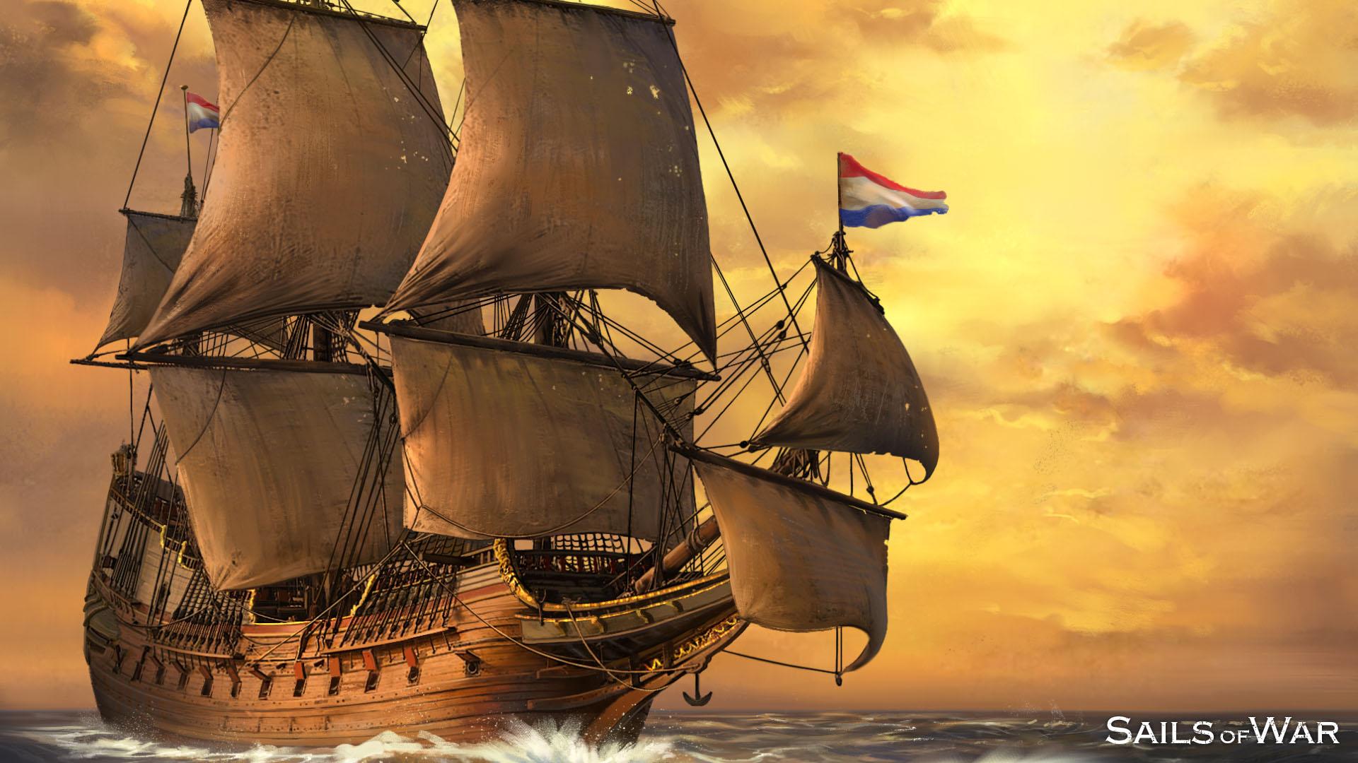 Sails of War Dutch Republican Ship
