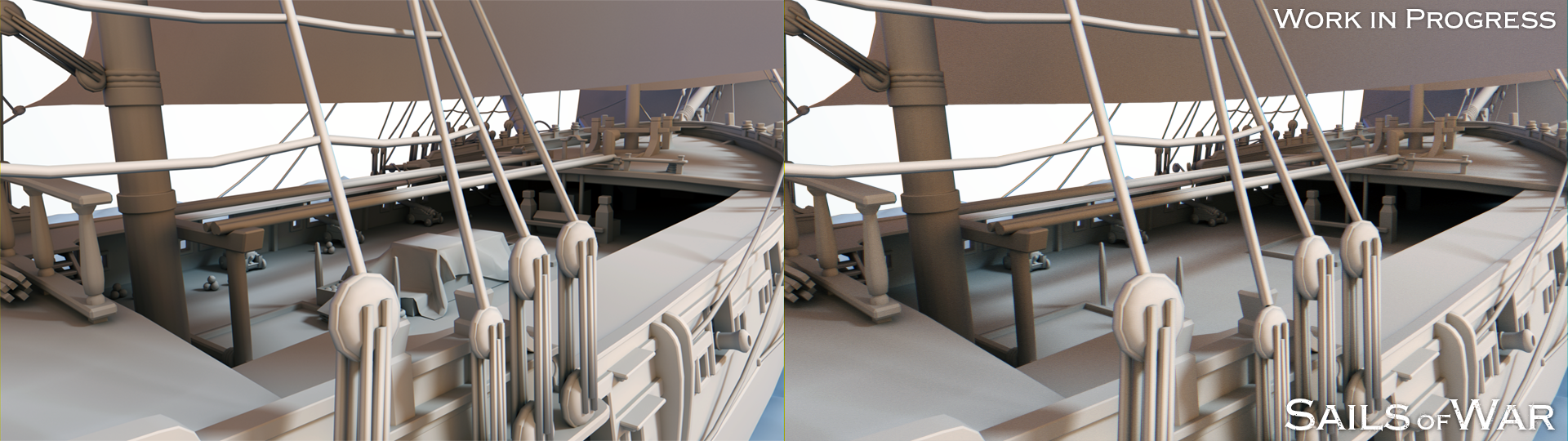Sails of War - compare Detail