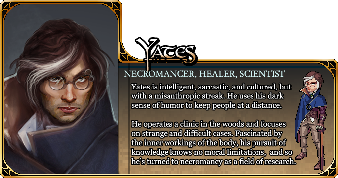 Character Yates