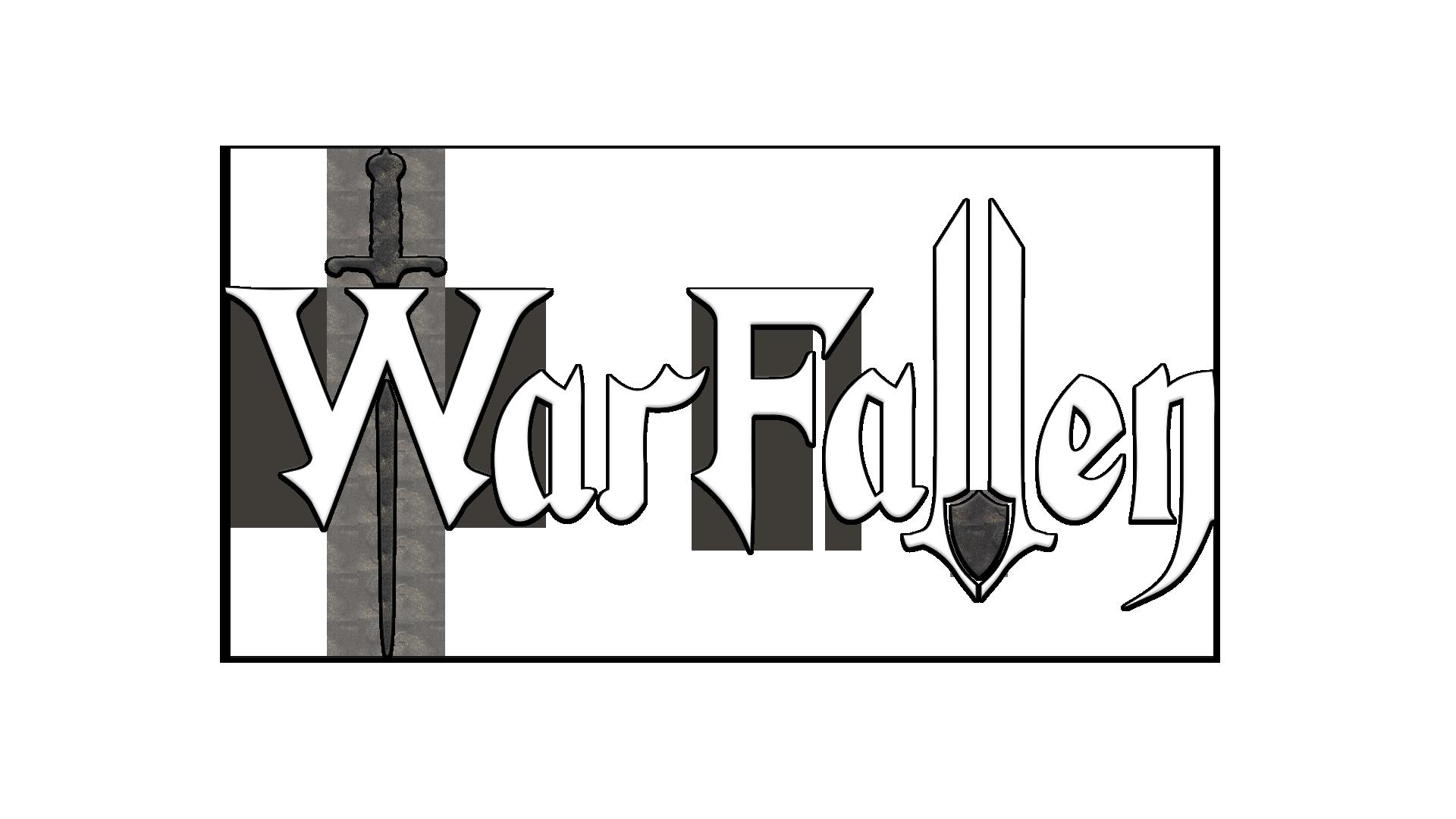 warfallen logo raised