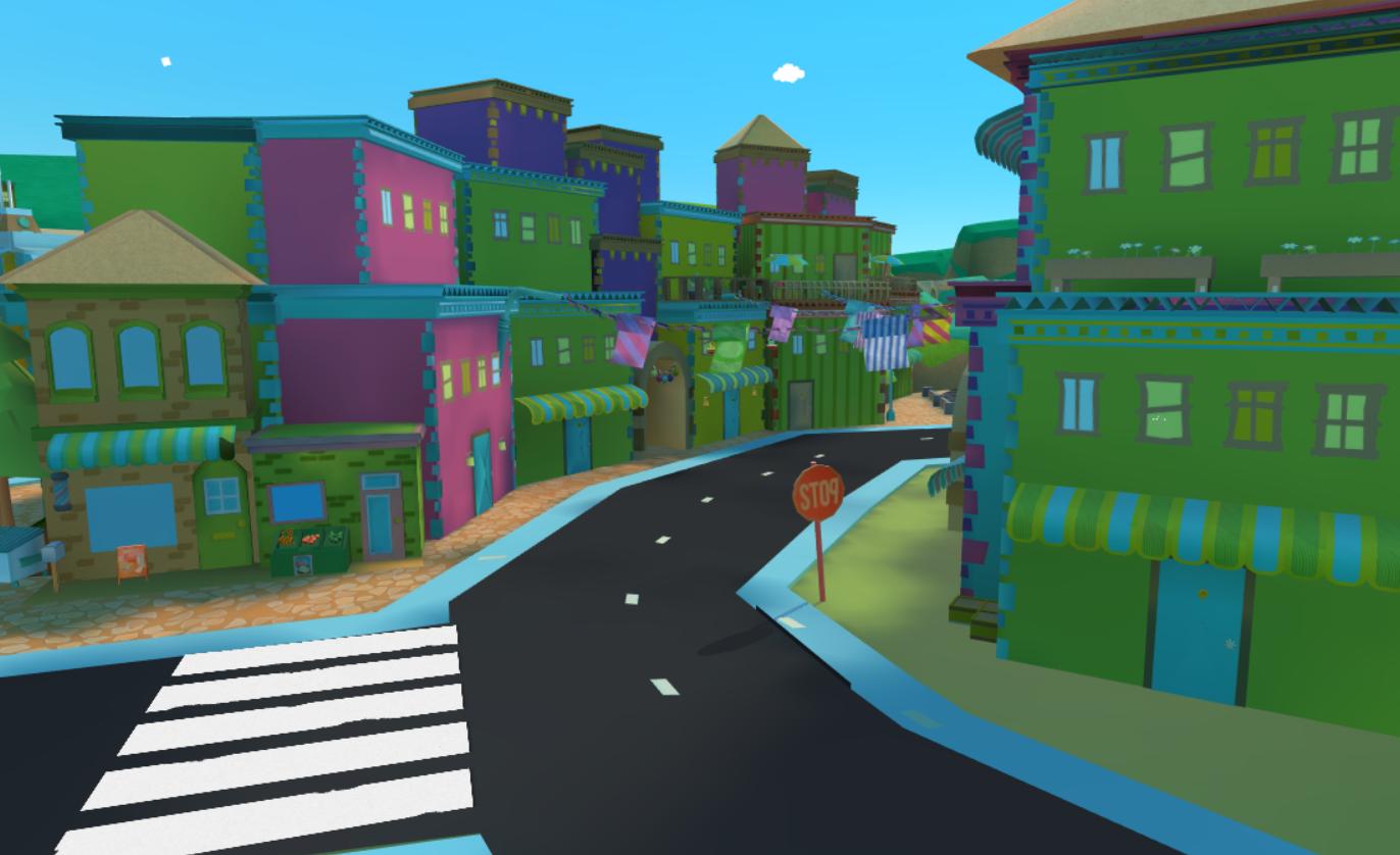 Road Through Hubworld
