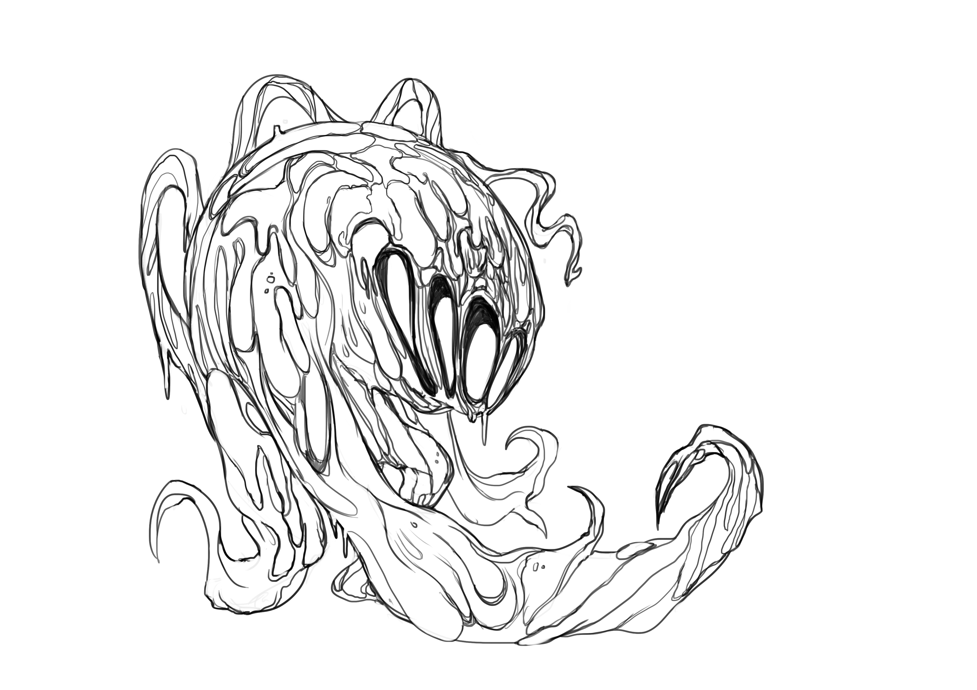 Nightmare Concept Art
